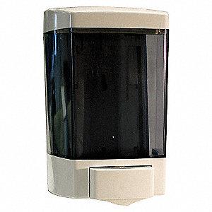 LIQUID SOAP DISPENSER,46 OZ,WHITE