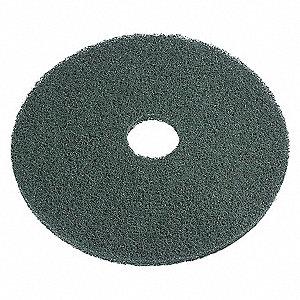 SCRUB PADS, GREEN, 20 IN,PK5