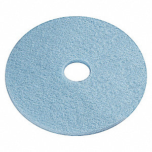 BURNISHING PADS,LIGHT BLUE,20 IN, P
