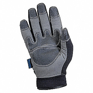 COLD PROTECTION GLOVES,L,BLACK/GRAY