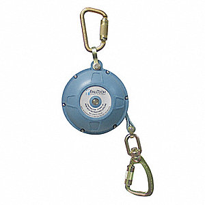 20 ft. Self-Retracting Lifeline with 310 lb. Weight Capacity, Blue