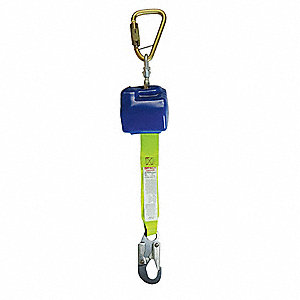 8 ft. Fall Limiter with 310 lb. Weight Capacity, Blue/Yellow