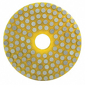 Wet Vitrified Polishing Pad, 60 Grit