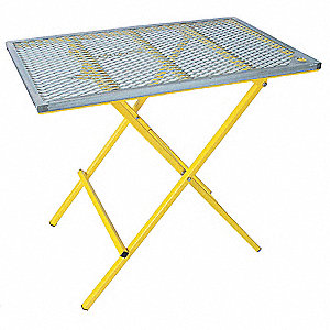 Portable Welding Table,40x24,600 Lb Cap