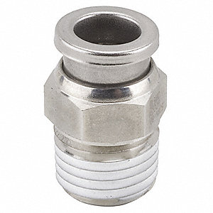 Adapter,1/4 In. x 1/4 In.