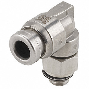 Smc 316 Stainless Steel Male Elbow 90 176 1 4 Quot Tube Size