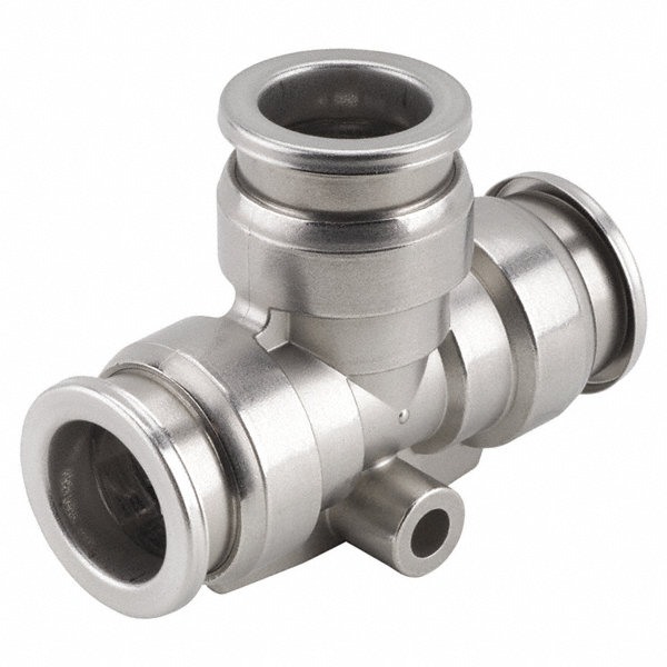 Smc stainless steel union tee quot tube size f