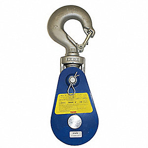 Snatch Block,Swivel Hook,16,000 lb.