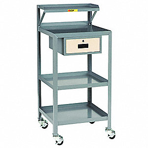 Mobile Work Center,1000 lb.,22 In. W