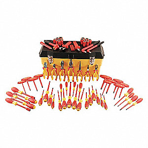 ELECTRICIANS INSULATED TOOL SET,66