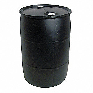 30 gal. Black Polyethylene Closed Head Transport Drum