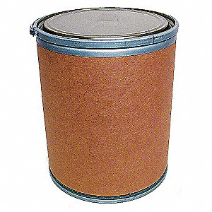 Transport Drum,Open Head,30 gal.,Brown