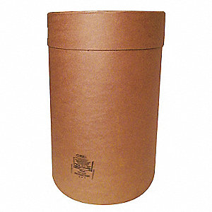 Transport Drum,Open Head,55 gal.,Brown
