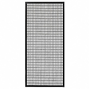"Panel, Material: Welded Steel, Overall Height: 7 ft. 10"", Overall Width: 2 ft. 10"""