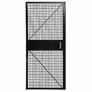 Powder Coated Hinged Door, 1 EA
