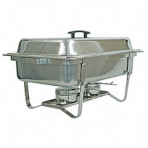 Full Size Chafer With Stackable Frame