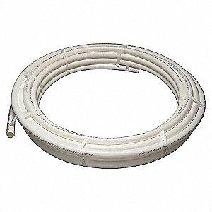 PEX TUBING,WHITE,1-1/4IN,100FT,100P