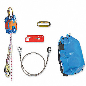 Rescue System,300 ft.,310 lb.,Kernmantle