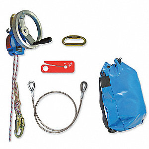 Rescue System,200 ft.,310 lb.,Kernmntle