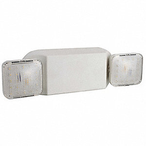 "13-5/8"" x 3-1/8"" x 4-1/8"" LED Emergency Light, Ceiling/Wall Mounting"