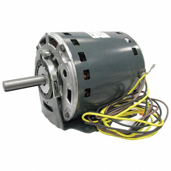 Genteq 1 hp oem replacement motor permanent split for Furnace brook motors inventory