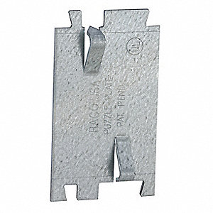 Cable Protection Plate,2.75 In. L