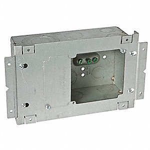 SQUARE DATA BOX W/ASSEMBLY PLATE