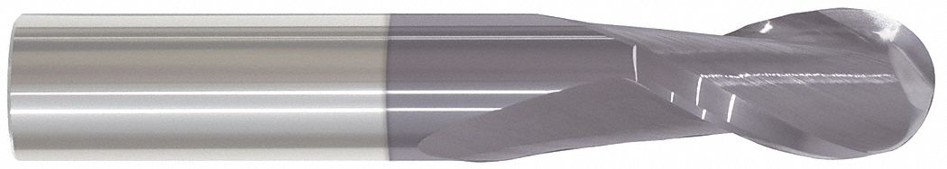 Ball End Mill,  25.00 mm,  Carbide,  AlTiN,  Non-Coolant Through