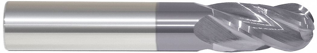 Ball End Mill,  20.00 mm,  Carbide,  AlTiN,  Non-Coolant Through