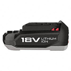 Standard Battery, 18.0 Voltage, Li-Ion