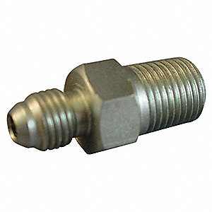Adapter,1/2 in.,Male BSPT/Male JIC