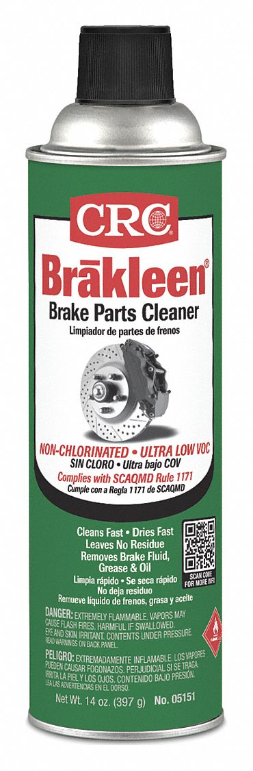 Brake Cleaner and Degreaser;Aerosol Can;20 oz;Flammable;Non Chlorinated