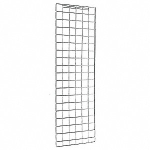 Silver Enclosure Panels, Steel, Chrome Plated Finish, 1 EA