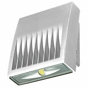"3-5/8"" x 5-3/4"" x 6-3/4"" 20 Watt LED Wall Pack, Summit White"