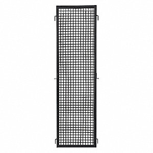Wire Partition Panel,W 3 Ft x H 7 Ft