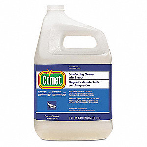 Cleaner and Disinfectant,3 gal,Fresh,PK3
