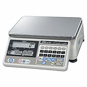 15 lb. Digital LCD Compact Bench Scale