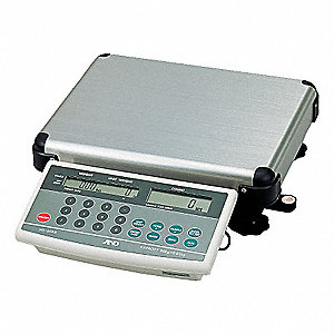 60 lb. Digital LCD Compact Bench Scale