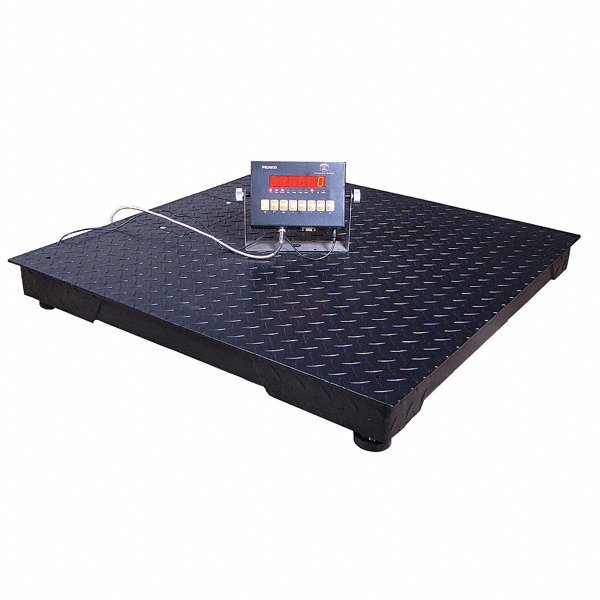 Pinnacle 4500kg 10 000 lb digital led floor scale with for 10000 lb floor scale