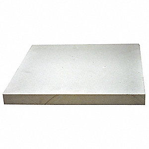 "1-1/2"" x 12"" x 12"" Calcium Silicate High Temperature Insulation, Density 55, White"