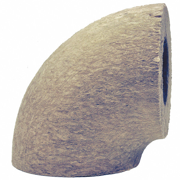 Iig 1 1 2 thick mineral wool 90 elbow pipe fitting for 2 mineral wool insulation