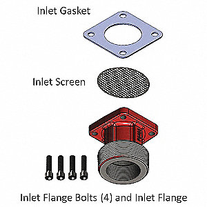 Inlet Kit for 24UY34 for FR3210B, FR3204