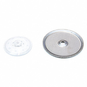 Nut and Washer Kit Polypropylene for 30J167, 30J164, 30J166 for SP100-05N-PF-TTF, SP100-05N-PP-SSS,