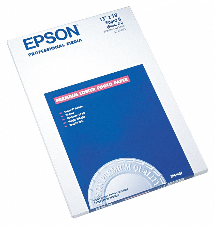 epson papers Epson has superior media for your home or business, from pro photo paper to fine art media and more.