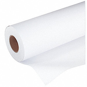 "42"" x 150 ft. Paper-Wide Format Paper Rolls with Coated Finish, White; PK1"