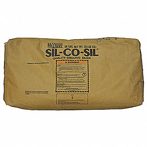 Ground Silica SL,Epoxy Thickener,50 lb.