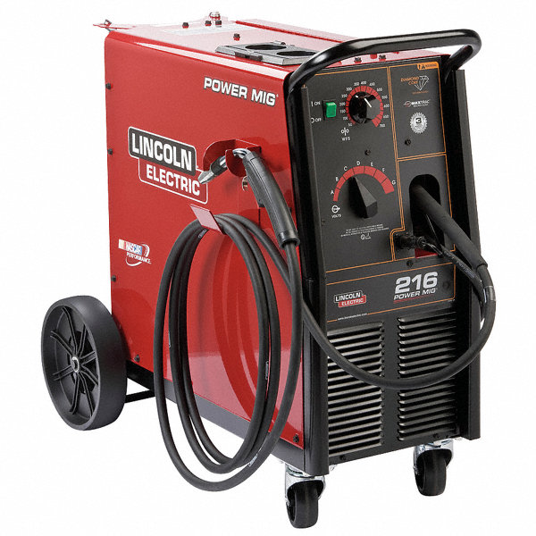 Lincoln electric mig welder power mig 216 series input for Lincoln electric motors catalog