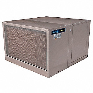 Ducted Evaporative Cooler,7000 cfm,1 HP