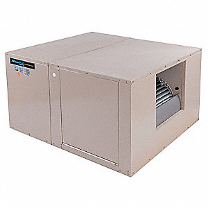 Ducted Evaporative Cooler,7000 cfm,1/5HP