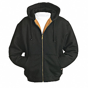 Hooded Swtshrt,Blk,80 per Cotton/20PET,S